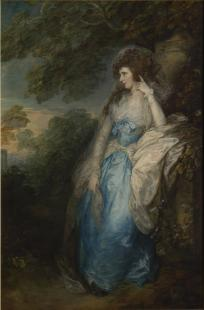 Gainsborough, « Lady Bate-Dudley », vers 1787