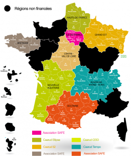 carte de France RDR à distance